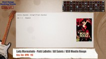 Lady Marmalade - Patti LaBelle / All Saints / BSO Moulin Rouge Guitar Backing Track