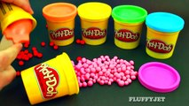 Learn Colors with Play Doh Dippin Dots Surprise Toys Thomas & Friends Minnie Mouse Dora Minion