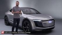 Audi e-tron Quattro Sportback Concept - présentation complète (technologie, performances, autonomie, design, moteurs)