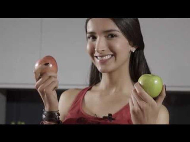 Manzana... Pecado es no comerla - Colombiana Vegana I Katherine Moscoso