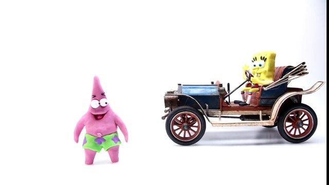 Play Doh Spongebob & Patrick Stop Motion Animación de Playdough Spongebob Squarepants