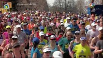 First woman to officially run Boston Marathon finishes race again at 70