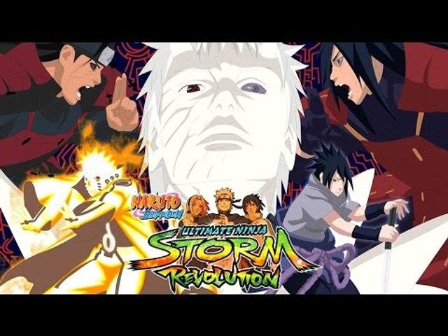Naruto Shippuden: Ultimate Ninja Storm Revolution - PS3 Gameplay