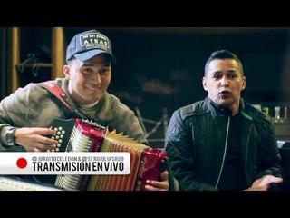Live Broadcast - Ni Un Paso Atrás - Jorge Celedón & Sergio Luis ®