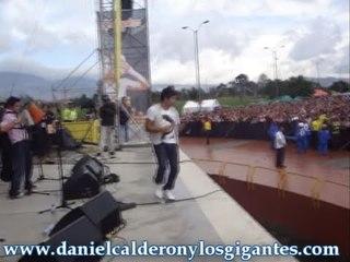 Yo Te Vi - Daniel Calderón y Los Gigantes (Parque El Tunal) ®