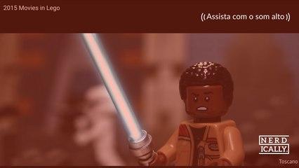 Curte Lego? e gosta de Filmes? Melhor ver o Toscano Bricks e...