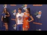 Kira Kosarin & Jack Griffo // Kids' Choice Sports 2015 Orange Carpet Arrivals jpg
