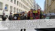 Suspects arrêtés à Marseille: Un drapeau de l'EI et des explosifs retrouvés dans l'appartement