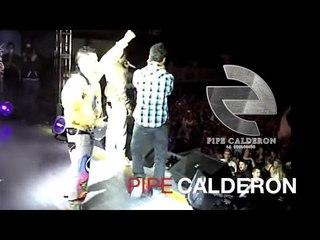 Pipe Calderón Feat. Jowell y Randy - Medellín (Concierto Colombia 2010) ®