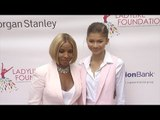 Zendaya Meets Mary J. Blige // 7th Annual Women of Excellence Scholarship Luncheon Pink Carpet