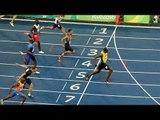 Usain Bolt wins triple-triple with 4x 100m relay, creates history at Rio Olympics |Oneindia News