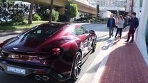 Aston Martin Vanquish Zagato V12 Sound - Start Up !