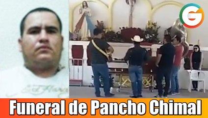 Balazos y banda en funeral de Pancho Chimal