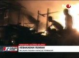 Kebakaran Besar di Makassar Hanguskan Belasan Rumah