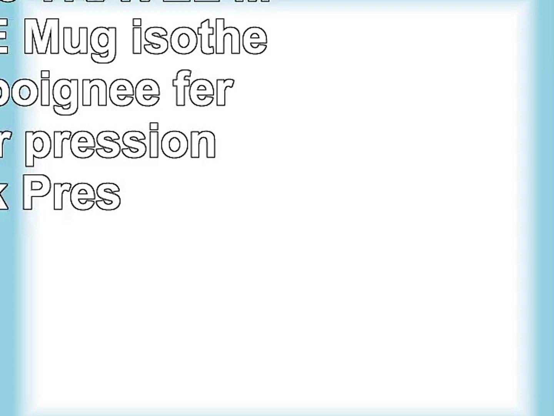 Quick Isotherme Pression Mug Avec Travel Handle Fermeture Par Emsa 514098 Poignée mNvOn0w8