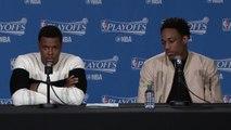 DeMar DeRozan & Kyle Lowry Postgame Interview Bucks vs Raptors Game 2 2017 NBA Playoffs