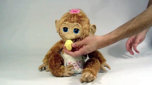 Furreal Friends Cuddles My Giggly Monkey Pet-PPF27X-tM6c
