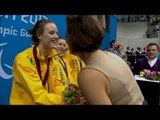 Swimming - Women's 4x100m Medley Relay - 34pts Victory Ceremony - London 2012 Paralympic Games