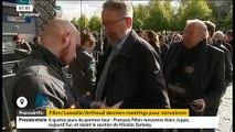 Menaces terroristes: Sécurité maximum hier soir pour le meeting de François Fillon à Lille