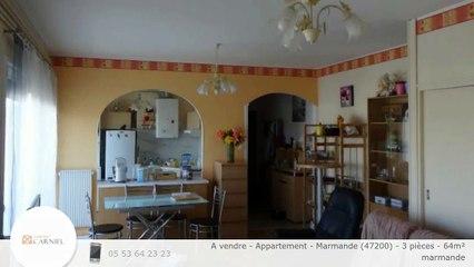 A vendre - Appartement - Marmande (47200) - 3 pièces - 64m²