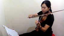 Up On The Housetop - Violin By วิว