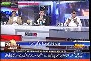 "PML N Leader Daniyal Aziz Hamid Mir Ky Show mian PTI Ky Panama Case Evidence Papers Mian  ""Pakoray"" Ly Aya"