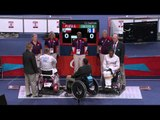 Wheelchair Fencing - FRA vs POL - Men's Ind Sabre - Cat. B Final - London 2012 Paralympic Games