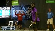 Un match de tennis perturbé par les cris  d'une femme