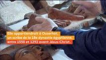 Egypte : des archéologues découvrent des momies dans une tombe de l'ère pharaonique