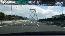 【SONY XPERIA Z5:4K動画】関門橋(再生時間50秒・ファイルサイズ331MB・ファイル形式MOV)