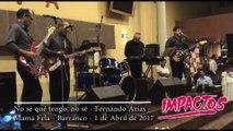 Show del recuerdo nueva ola Lima Grupo IMPACTOS - Varios temas en Mama Fela - Barranco Peru