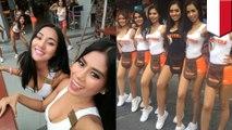 Pelayan cantik di restoran chicken wings Hooters Indonesia - TomoNews
