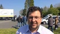 Les forains durcissent le mouvement et bloquent le rond-point de l'Europe à Plérin