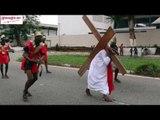 Célébration du chemin de croix à la paroisse catholique St Jean de Cocody