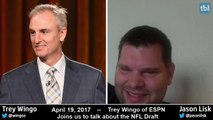 Jason Lisk talks with Trey Wingo about ESPN's draft coverage and the 2017 NFL Draft