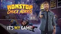 CHUCK NORRIS et son jeu NONSTOP CHUCK NORRIS