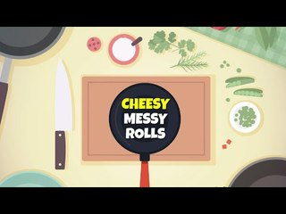 """How to make """"Cheesy messy bread rolls"""""""
