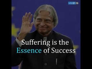 Dr. APJ. Abdul Kalam's Inspirational Quotes    WittyFeed