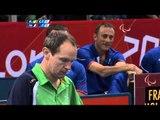 Table Tennis - IRL vs FRA - Men's Team - Class 1-2 Quarterfinal 2 - London 2012 Paralympic Games