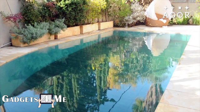Secret Swimming Pool, Amazing Swimming Pools Design By AGOR, Hidden Swimming Pool
