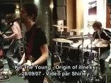 Kill the young origin of illness live