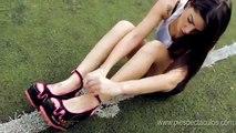 Sexy Girl Freestyle Football - freestyle football girls ● amazing street football skills sexy girl