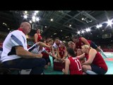 Sitting Volleyball - BRA vs GBR - Semifinals 3 - London 2012 Paralympic Games