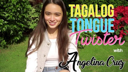 Angelina Cruz - Tagalog Tongue Twister