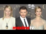 """Lily James, Richard Madden, Cate Blanchett """"Cinderella"""" World Premiere Arrivals"""