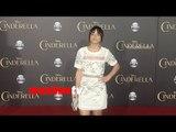 """Chloe Bennet """"Cinderella"""" World Premiere Red Carpet"""