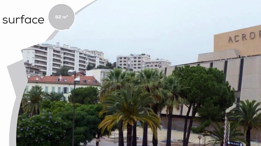 A vendre - Appartement - Nice (06000) - 3 pièces - 82m²