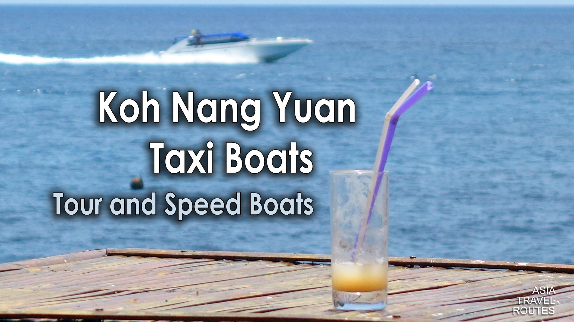 Koh Nang Yuan Taxi Boats, Tour and Speed Boats