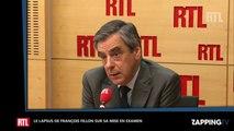 François Fillon : Son lapsus sur sa mise en examen fait sourire la Toile (vidéo)