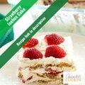 Découvrez la recette du gâteau succulent aux fraises sans cuisson !